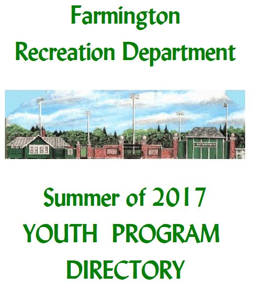 2017 Youth Program Directory