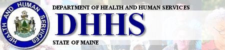 Maine Dept. of Health and Human Services banner