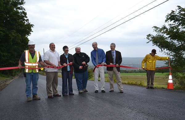 Voter Hill Road Opening Ceremony - Courtesy of the Daily Bulldog