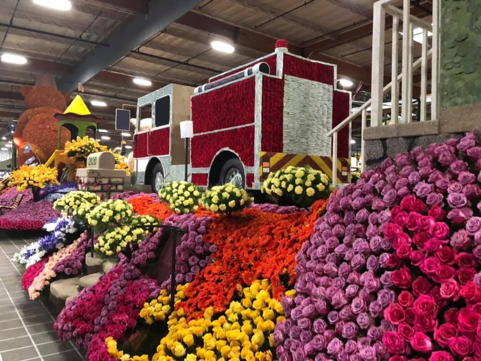 Rose Bowl First Responder Float